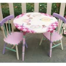 little girls table and chair set order personalized kids table chairs set kid s furniture at