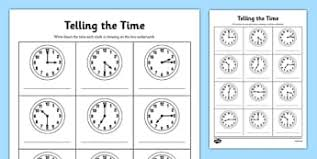 work with time and money 2 md c 7 tell and write page 1
