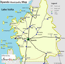 Accra Ghana Map Volta Guide Service Kpando Kpando