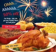 news boston market half family meals july 4th brand