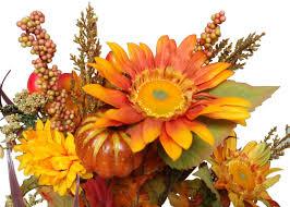 admiredbynature 14 artifical pumpkins sunflowers daisy berries