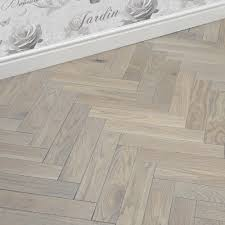 park avenue herringbone silk grey oak solid wood flooring direct
