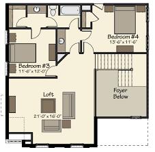 Jefferson Floor Plan by Jefferson C At Fieldstown Crossing Harris Doyle Homes