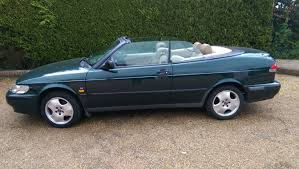 saab convertible green 1999 saab 9 3 se turbo being auctioned at barons auctions