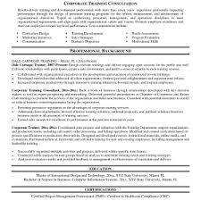 cover letter trainer resume example trainer resume objective