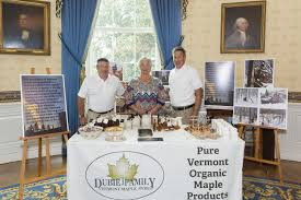 Vermont where to travel in july images Dubies bring vermont maple syrup to trump 39 s white house off message jpg