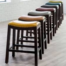 madigan backless hickory chair stool madiganbackless