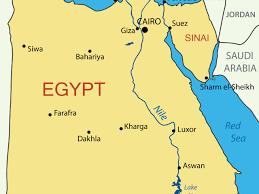 Sinai Peninsula On World Map by 4 U S Troops Hurt In Egypt Blasts Cbs News