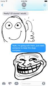 troll meme faces on the app store