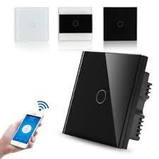touch screen wall light switch 1 2 3 gang 4g wifi smart panel touch screen wall light switch app