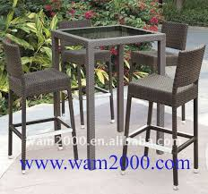 Garden Bar Table And Stools Lovely Modern Metal Garden Furniture Patio Home With Outdoor High