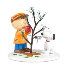 amazon com peanuts village from department 56the perfect tree