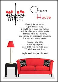 open house invitation open house invitations for party celebration 7656cs oh