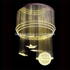 Fiber Optic Home Decor Hotel Fiber Optic Crystal Customized Lighting Decoration Buy