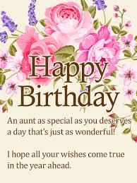 to my special happy birthday wishes card birthday