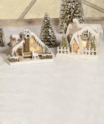 mini lights for christmas village 221 best glitter houses images on pinterest xmas christmas houses