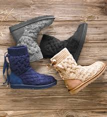 ugg isla sale get cozy in ugg australia s isla boots part of the knit