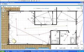 lake house renovation project electrical layout plan drafts