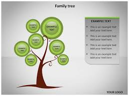 tree powerpoint template 7 powerpoint family tree templates free