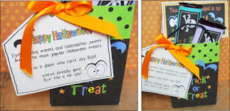 Halloween Goodie Bags Halloween Gift Tag Ideas U2013 Fun For Christmas