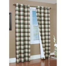 primitive patio door drapes