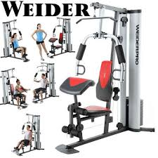 Weider Pro 125 Bench Weider Pro Weight System With 6 Separate Stations 55 Possible