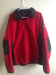 vintage hilfiger sweaters vintage hilfiger cold stop 1 2 zip sleeve