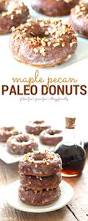 quick and easy maple pecan paleo donuts the fit foodie mama