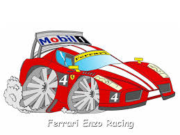 ferrari enzo sketch car toon ferrari enzo by gr8 ice on deviantart