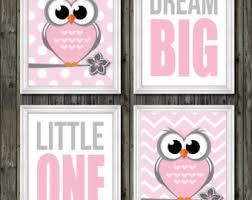 Owl Nursery Decor Owl Nursery Decor Etsy