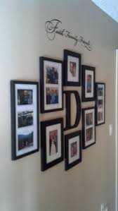 faith family and friends hallway wall collage ideas for the