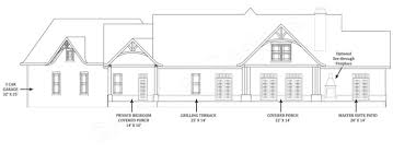 house plans with covered porches tres le fleur ranch home plans small luxury house plans