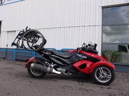 amenagement garage auto aménagement moto trois roues can am handi drive