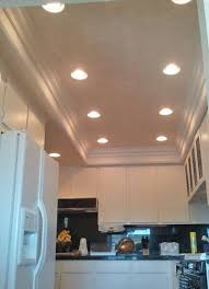 Recessed Lights In Kitchen 5x12 W 9 Lights Moulding Recessed Light