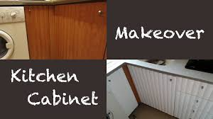 how to makeover kitchen cabinets apartment tour kitchen cabinet makeover 櫥櫃翻新 youtube
