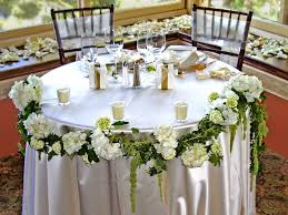 Sweet Heart Table Head Table U0026 Sweetheart Table Flowers For Your Wedding Serving