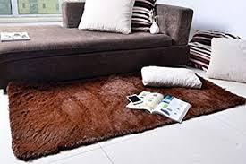 amazon com kloud city super soft modern shag area rugs living