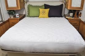amazon com ab lifestyles short queen mattress pad usa made