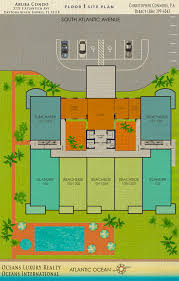 Condominium Plans Aruba Condos Floor Plan 3721 S Atlantic Ave 32118 Daytona