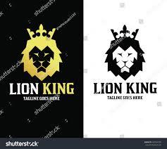 lion king template lion logo design template lion king stock vector 487524799