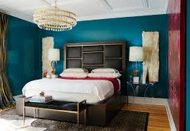 interior bedroom interior design styles with dark mattress and