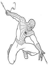 spiderman coloring pages preschool coloring