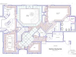 mansion floor plans with pool and plan wda craftsman corner lot