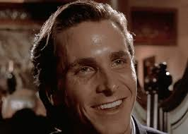 Christian Bale Axe Meme - collection of gifs from american psycho album on imgur
