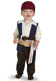 Toddler Boy Pirate Halloween Costumes Infant Jack Sparrow Costume Licensed Costume