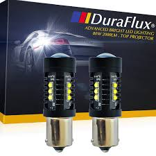 Led Light Bulbs Ebay by Duraflux 1156 Ba15s Cree Led Reverse Backup Light Bulb 80w Super