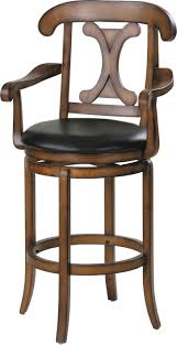Comfortable Bar Stools With Backs Furniture Astounding Swivel Bar Stools With Arms Perfecting Your