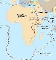 africa map great rift valley divergent boundary rift system pmf ias