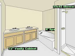 Master Bathroom Layout Ideas Bathroom Design Layout Ideas With Worthy Bathroom Floor Plans On