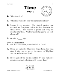 Punctuation Worksheets 3rd Grade Teaching Time Worksheets 3rd 4th 5th Grade Centers